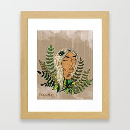 Buggin Out Framed Art Print