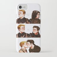 stucky iPhone & iPod Cases featuring memories fade by suitfer