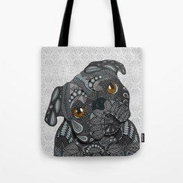 Black Pug 2016 Tote Bag