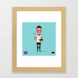 Ozil (SuperEuros) Framed Art Print