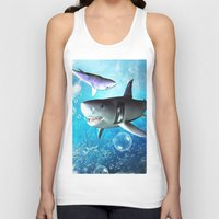 shark Tank Tops featuring Shark by nicky2342