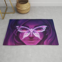 Butterfly Rash - Lupus Awareness Rug