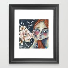 Since Last We Spoke Framed Art Print