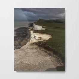 White cliffs of Beachy Head Metal Print