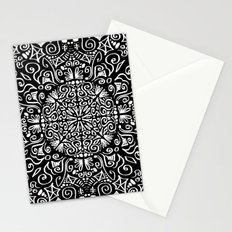 Doodle circle 1 Stationery Cards