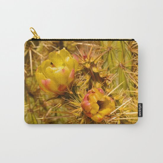 Cacti in Bloom Carry-All Pouch