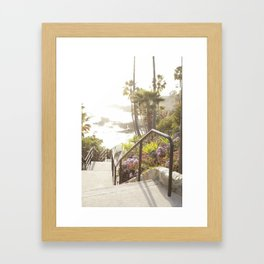 Laguna Beach, California  //  Travel the World Framed Art Print