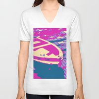 boat V-neck T-shirts featuring Boat by DistinctyDesign