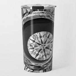 Diamond in Wire Travel Mug
