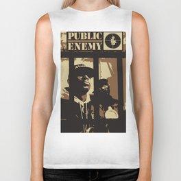 Public Enemy: 1988 Biker Tank