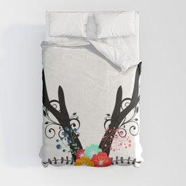 Floral Antler Comforters