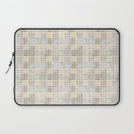 Classical beige cell. Laptop Sleeve