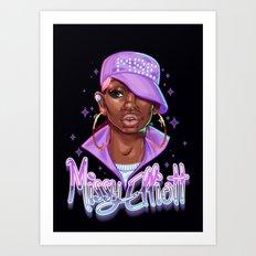 Missy Elliot Art Print