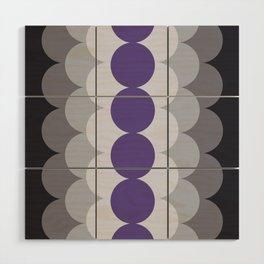 Gradual Ultra Violet Wood Wall Art