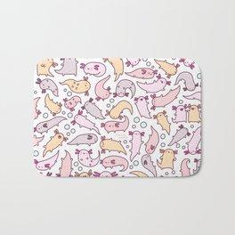 Adorable Axolotls Bath Mat