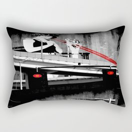 Stop the Freeway Overpass Scales Madness! Rectangular Pillow