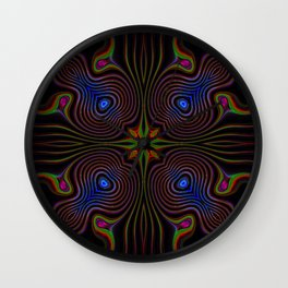Flourescent 1 Wall Clock