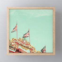 Union Jacks Framed Mini Art Print