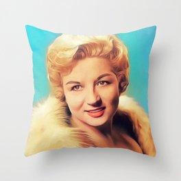 Anne Shelton, Vintage Singer Throw Pillow