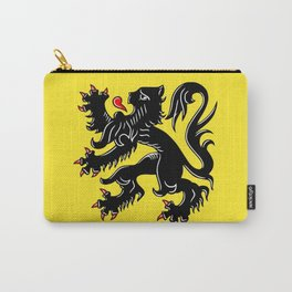 Flag of Flanders - Belgium,Belgian,vlaanderen,Vlaam,Oostende,Antwerpen,Gent,Beveren,Brussels,flamish Carry-All Pouch