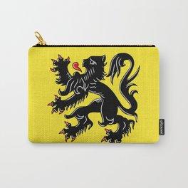 Flag of Flanders - Belgium,Belgian,vlaanderen,Vlaam,Oostende,Antwerpen,Gent,Beveren,Brussels,flamish Carry-All Pouch