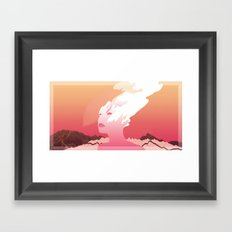 SUCK IT AND SEE Framed Art Print