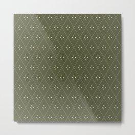 Mae Pattern XXI Metal Print
