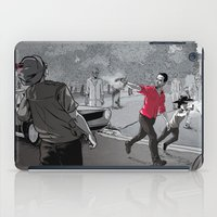 the walking dead iPad Cases featuring The Walking Dead by Steven P Hughes