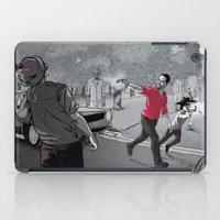walking dead iPad Cases featuring The Walking Dead by Steven P Hughes