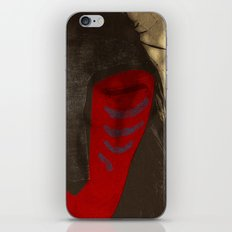 FOREST SPIRIT MASK iPhone & iPod Skin