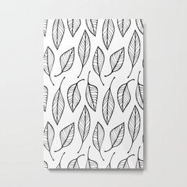Pattern Play: Botanical Metal Print