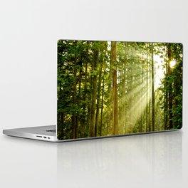 A Light Peeks Through Laptop & iPad Skin