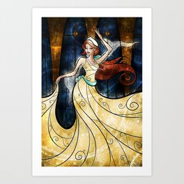 Once upon a December Art Print