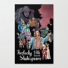 Kentucky Shakespeare 55 Season Canvas Print