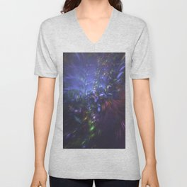 Blue Splash Unisex V-Neck