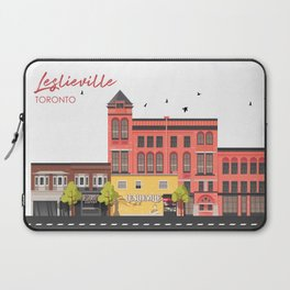 Leslieville - Toronto Neighbourhood Laptop Sleeve