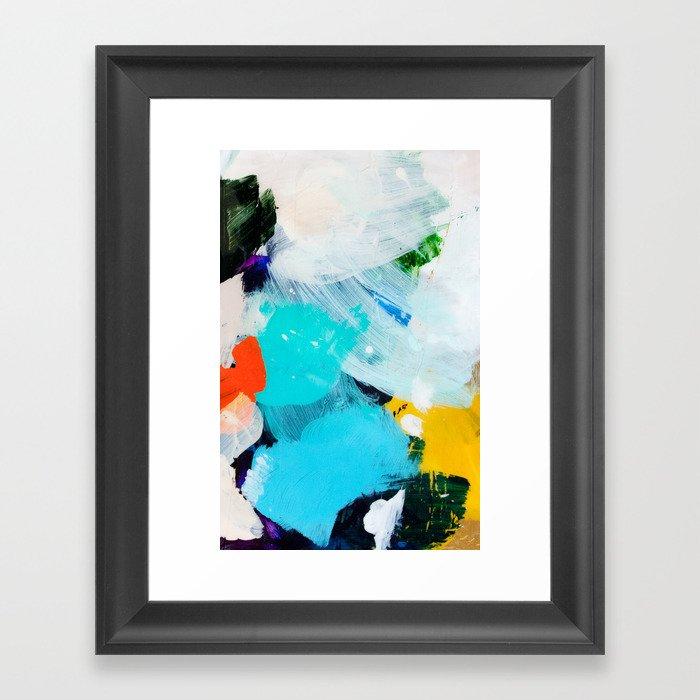 Palette No. Three Gerahmter Kunstdruck