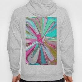 234 - Abstract flower design Hoody