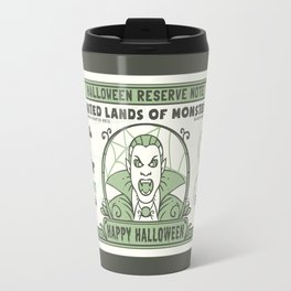 Halloween 100 Dollar Bill Travel Mug