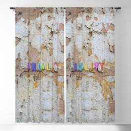 Equality Paint Blackout Curtain