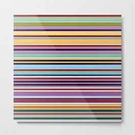 Colorful Symphony of Summer Metal Print