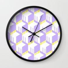 PastelCube Wall Clock