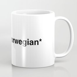 Cries in norwegian Coffee Mug