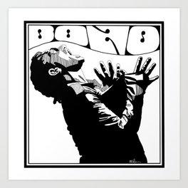 Bono Fan Art Art Print
