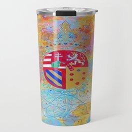 Arms of Marie Antoinette Travel Mug