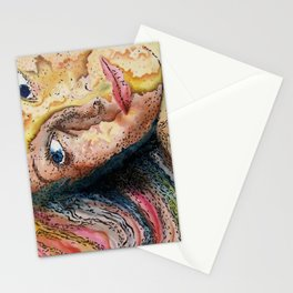 Rainbow World Girl Society Remix Stationery Cards