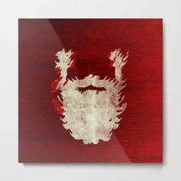 Santa Beard 1 Metal Print