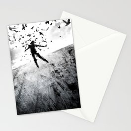 Birds in the head Stationery Cards