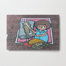 Little Lucy Metal Print