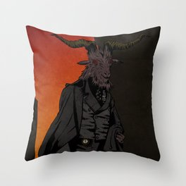 His Red Right Hand Throw Pillow